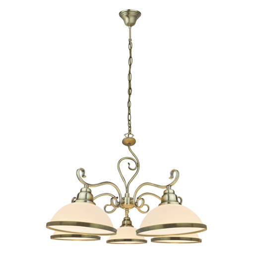 Picture of Havells Ornalite 1 X 5LS E27 BRZ Chandelier