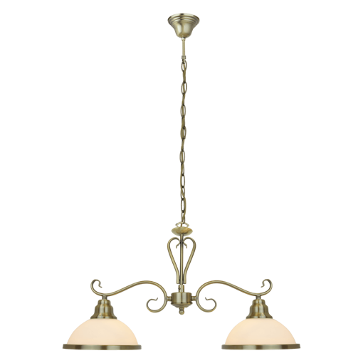Picture of Havells Ornalite 1 X 2LS E27 BRZ Chandelier