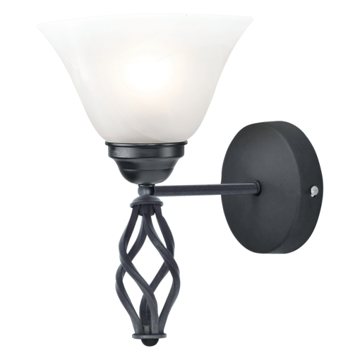 Picture of Havells Cupola WL 1LS E27 BLK BRZ Wall Light