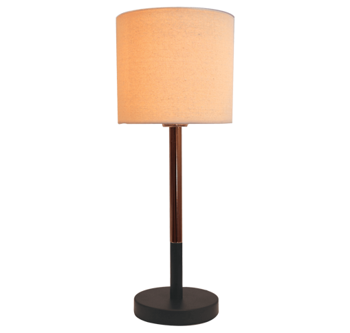 Picture of Havells Metallo TC Fabric Shade CUP Table Lamp